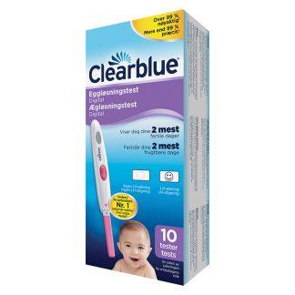 Clearblue digital ægløsningstest 10 stk